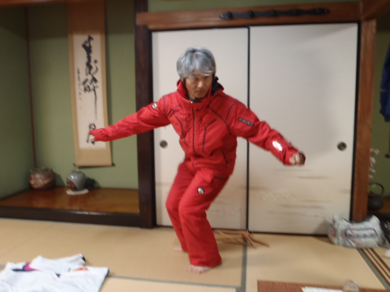 ウェア デサント スキー